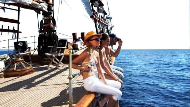 prince motor sailer hanging out (1) -  Valef Yachts Chartering - 0898