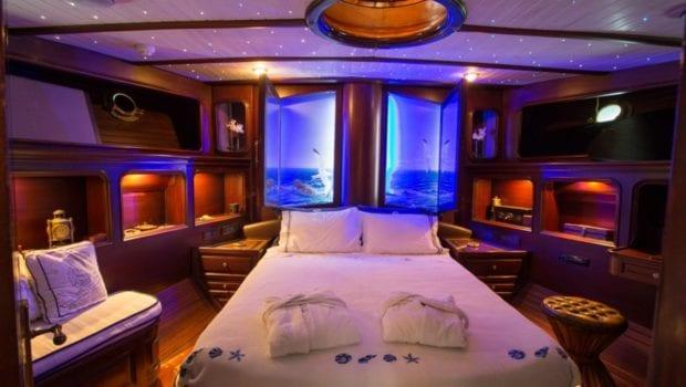 prince motor sailer master cabin -  Valef Yachts Chartering - 0896