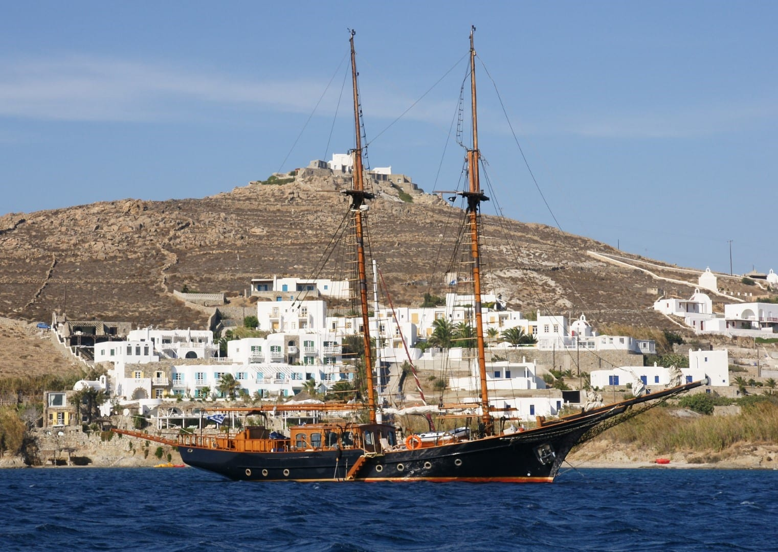 prince motor sailer profile (3) -  Valef Yachts Chartering - 0894
