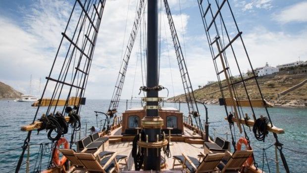 prince motor sailer view -  Valef Yachts Chartering - 0888