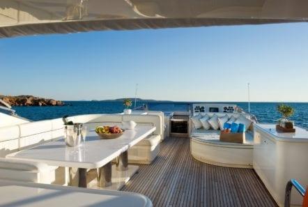 dilias motor yacht sun deck min -  Valef Yachts Chartering - 0771