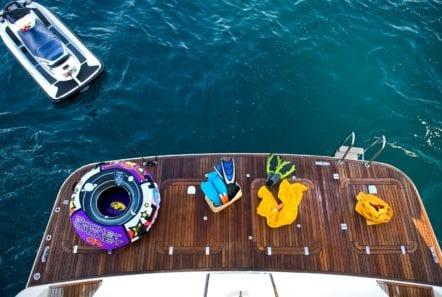 dilias motor yacht swim platform min -  Valef Yachts Chartering - 0777