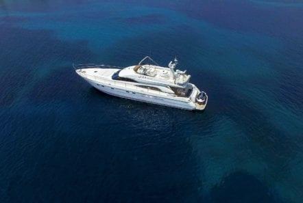 fast break motor yacht aerial (3) min -  Valef Yachts Chartering - 0874