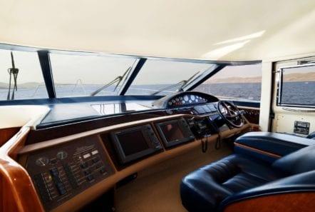 fast break motor yacht bridge min -  Valef Yachts Chartering - 0870