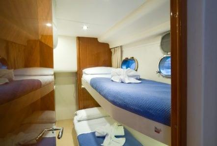 fast break motor yacht bunk min -  Valef Yachts Chartering - 0869