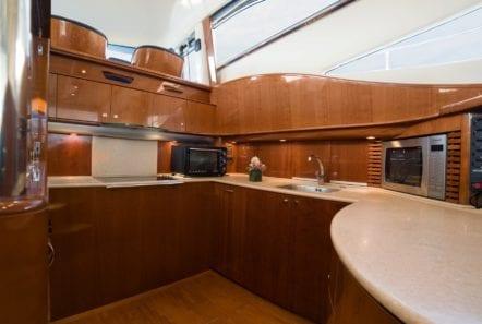 fast break motor yacht galley min -  Valef Yachts Chartering - 0866
