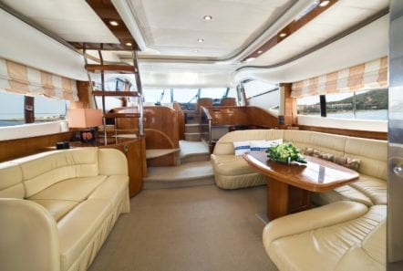 fast break motor yacht salon (2) min -  Valef Yachts Chartering - 0857