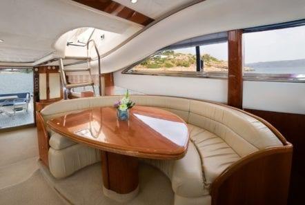 fast break motor yacht salon (3) min -  Valef Yachts Chartering - 0856