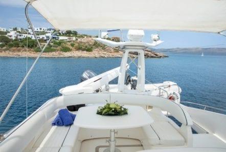 fast break motor yacht sundeck (2) min -  Valef Yachts Chartering - 0854