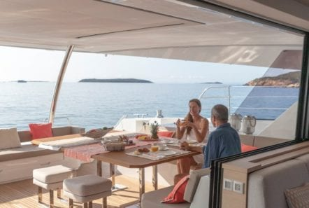 number one catamaran aft deck (1) min -  Valef Yachts Chartering - 0806