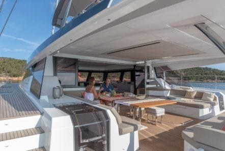 number one catamaran aft deck (4) min -  Valef Yachts Chartering - 0803