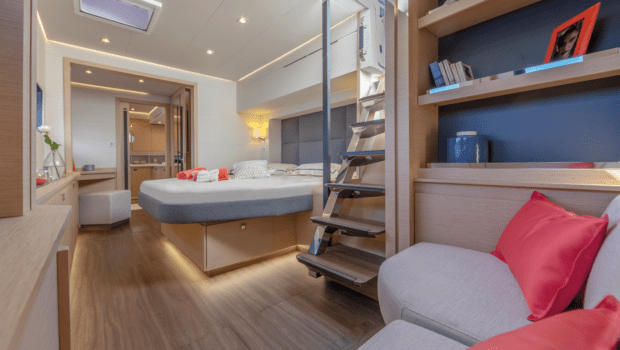 number one catamaran cabins (1) -  Valef Yachts Chartering - 0792