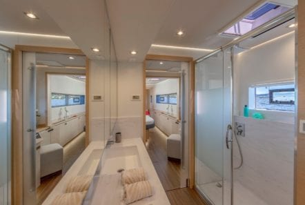 number one catamaran cabins (1) min -  Valef Yachts Chartering - 0799