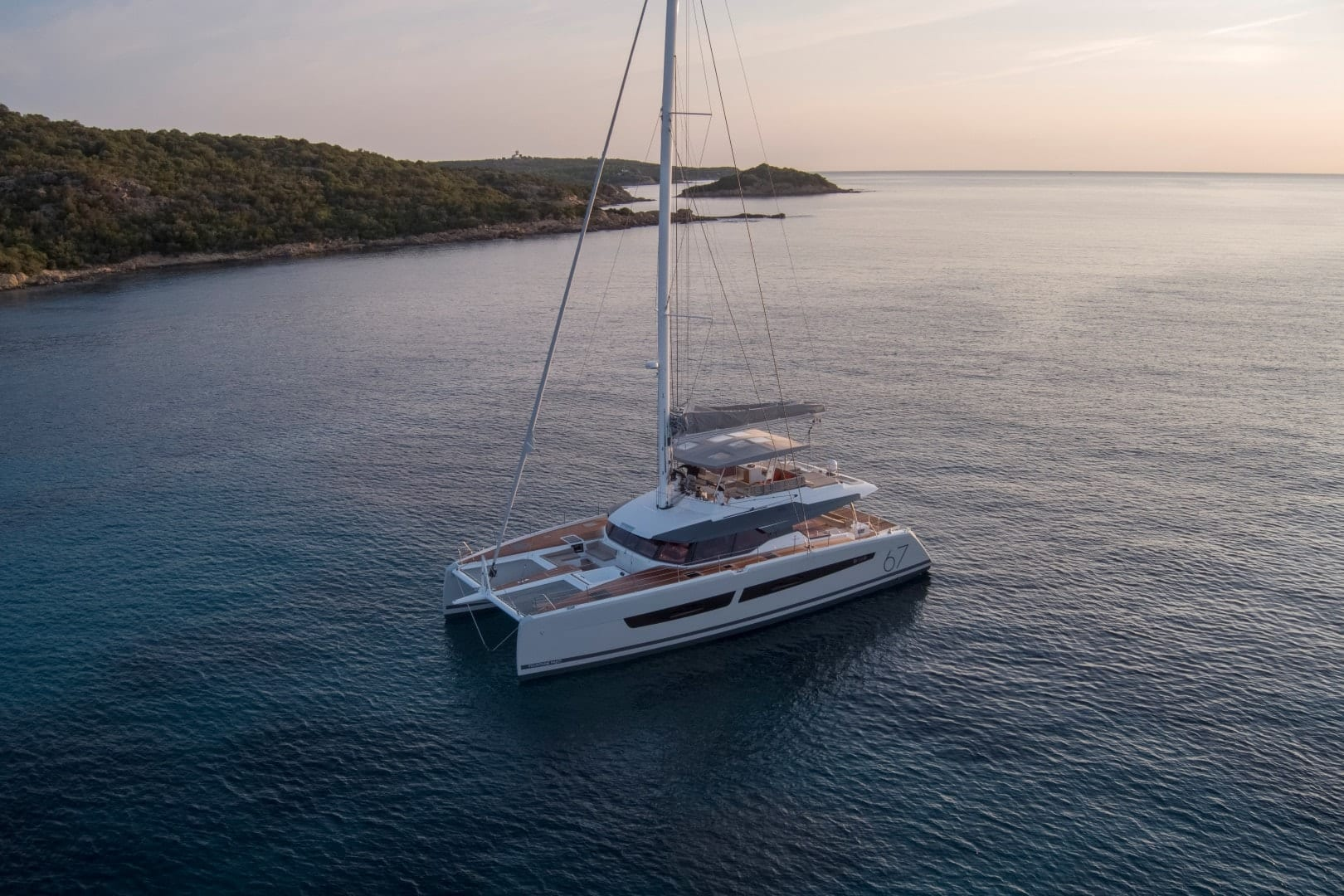 number one catamaran exterior (1) min -  Valef Yachts Chartering - 0798