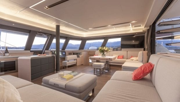 number one catamaran interior min -  Valef Yachts Chartering - 0794