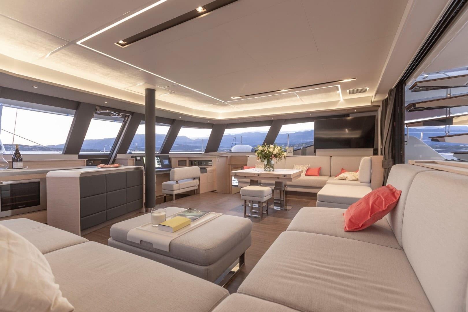 number one catamaran interior min -  Valef Yachts Chartering - 0824
