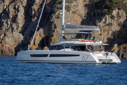 number one catamaran profile min -  Valef Yachts Chartering - 0820