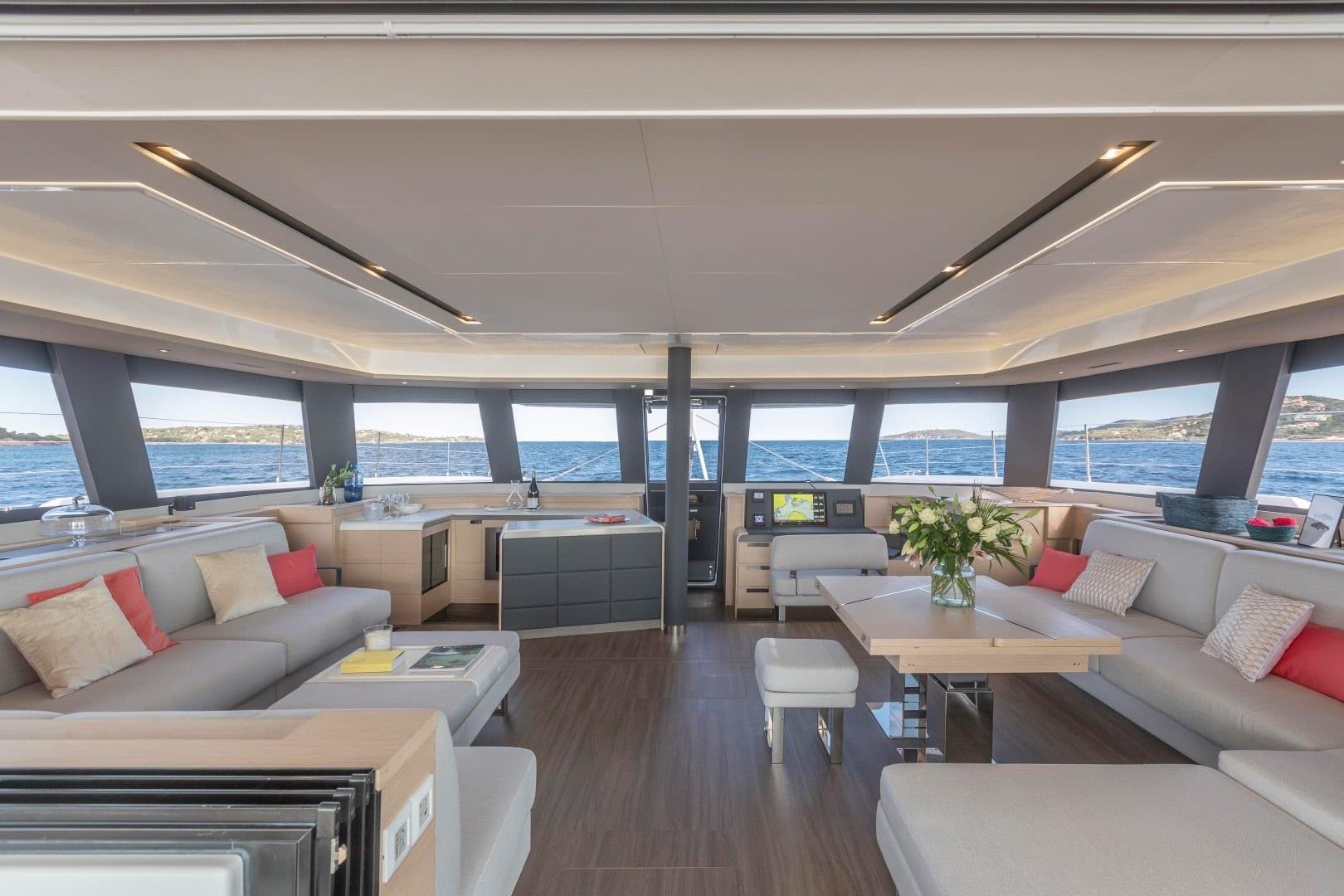 number one catamaran salon1 min -  Valef Yachts Chartering - 0819