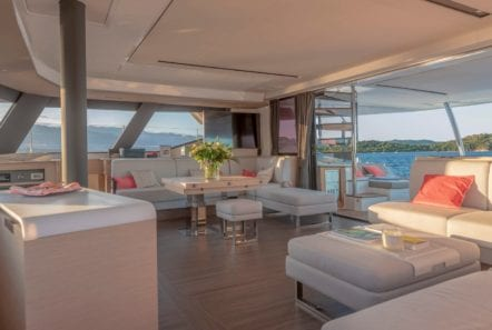 number one catamaran seating (1) min -  Valef Yachts Chartering - 0817