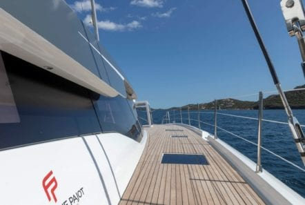 number one catamaran side min -  Valef Yachts Chartering - 0813