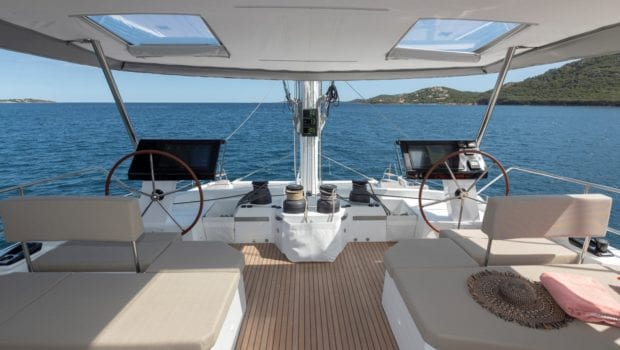 number one catamaran suindeck (1) min -  Valef Yachts Chartering - 0811