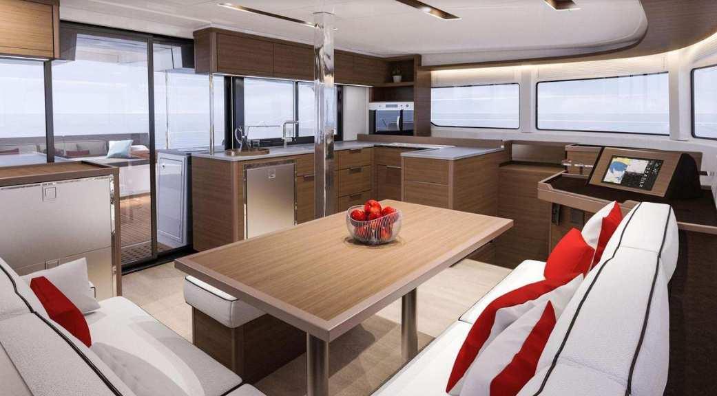 alice catamaran catamarns galley -  Valef Yachts Chartering - 0650