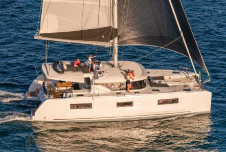 alice catamaran profile (2) -  Valef Yachts Chartering - 0646