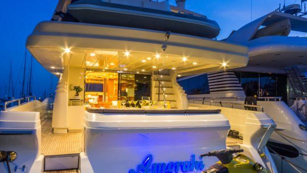 amoraki motor yacht aft3 -  Valef Yachts Chartering - 0731