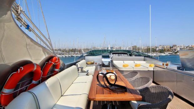 elvi motor yacht sun deck (3) min -  Valef Yachts Chartering - 0625