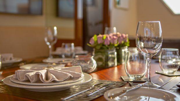 grace motor yacht dining (3) min -  Valef Yachts Chartering - 0687