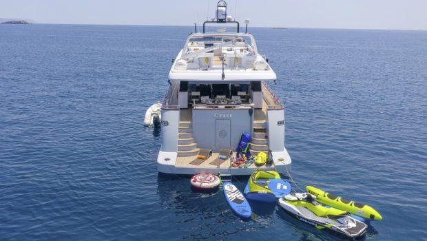 grace motor yacht profile shot (2) min -  Valef Yachts Chartering - 0678