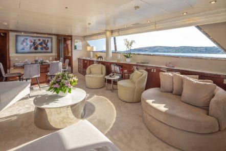 grace motor yacht salon (5) min -  Valef Yachts Chartering - 0673