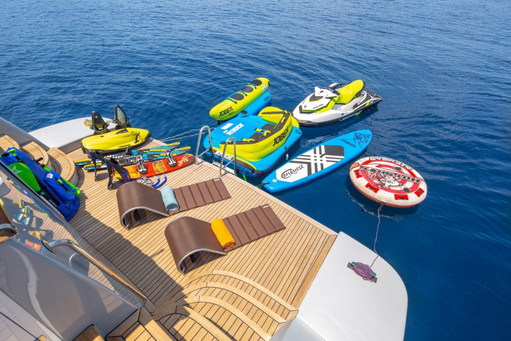 sea toys from the aft deck