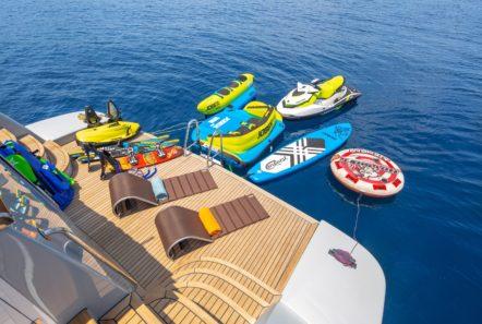 grace motor yacht sea toys min -  Valef Yachts Chartering - 0671