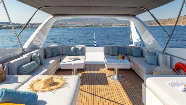 grace motor yacht sundeck (11) min -  Valef Yachts Chartering - 0660