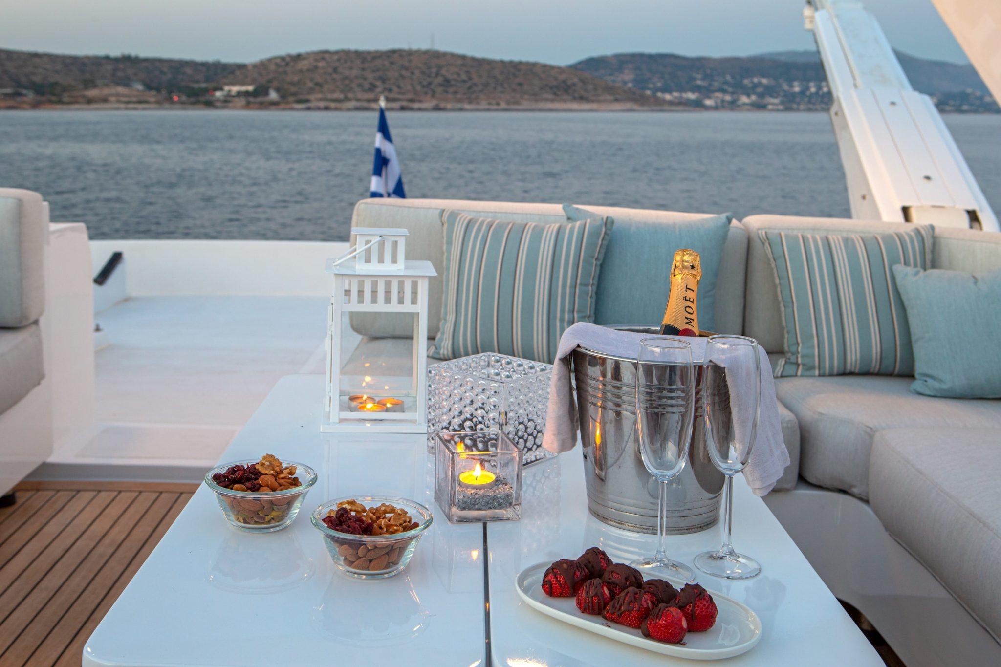 grace motor yacht sundeck (14) min -  Valef Yachts Chartering - 0657
