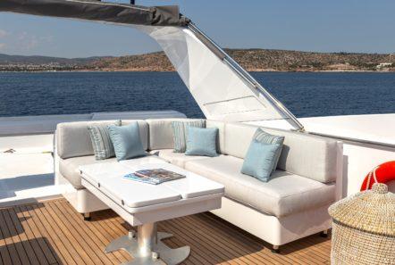 grace motor yacht sundeck (5) min -  Valef Yachts Chartering - 0664