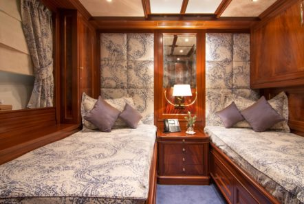 plan b motor yacht twin stateroom min -  Valef Yachts Chartering - 0709