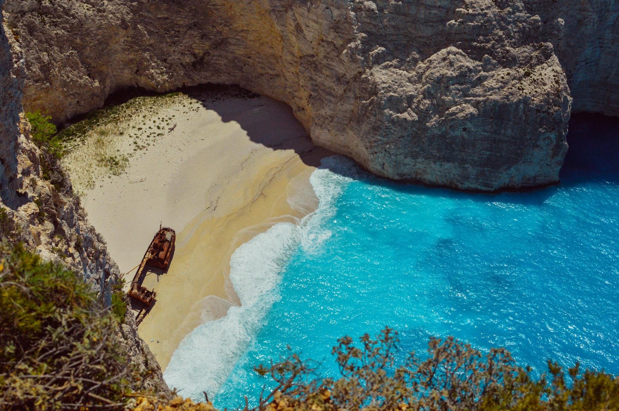 secret islands and beaches travel guide Zakynthos min - Valef Yachts Chartering - 0735