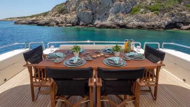 Legend Aftdeck min -  Valef Yachts Chartering - 0459