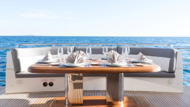 albator 2 aft deck table (7) min -  Valef Yachts Chartering - 0604