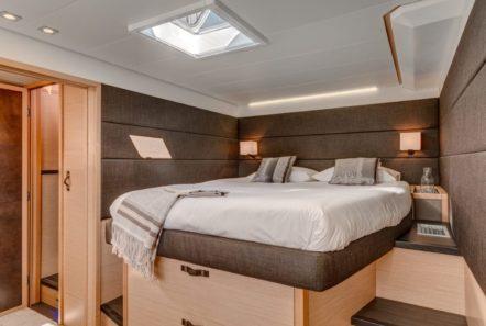 galux one catamaran cabins (1) min -  Valef Yachts Chartering - 0472