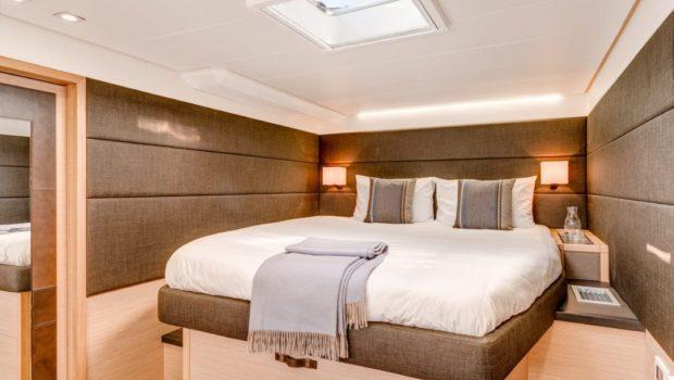 galux one catamaran cabins (2) min -  Valef Yachts Chartering - 0471
