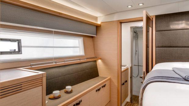 galux one catamaran cabins (3) min -  Valef Yachts Chartering - 0470