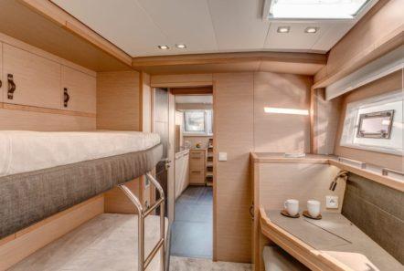 galux one catamaran cabins (5) min -  Valef Yachts Chartering - 0468