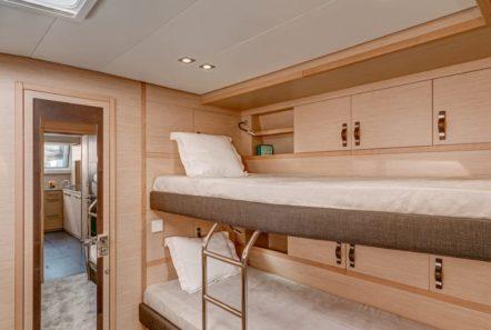 galux one catamaran cabins (6) min -  Valef Yachts Chartering - 0467