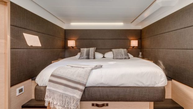 galux one catamaran cabins (8) min -  Valef Yachts Chartering - 0465