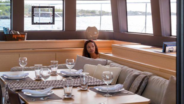 galux one catamaran dining min -  Valef Yachts Chartering - 0485