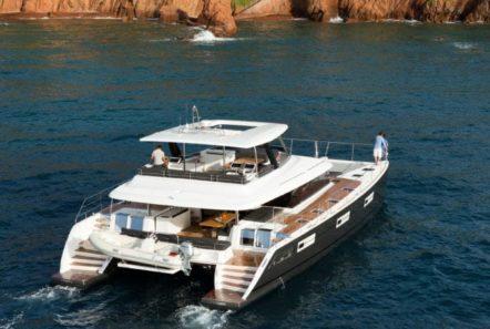 galux one catamaran exteriors (2) -  Valef Yachts Chartering - 0491