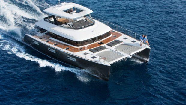 galux one catamaran exteriors (3) -  Valef Yachts Chartering - 0490